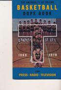 1969 - 1970 Toledo Basketball press Media guide - bx69