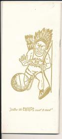 1969 - 1970 Oklahoma City  Basketball press Media guide - bx69