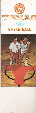 1969 - 1970 Tulane Basketball press Media guide - bx69