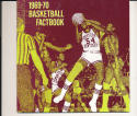 1969 - 1970 eastern Kentucky Basketball press Media guide - bx69