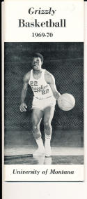 1969 - 1970 Montana Basketball press Media guide - bx69