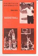 1969 - 1970 Fairfield Conn Basketball press Media guide - bx69