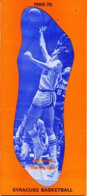 1969 - 1970 Syracuse Bill Smith Basketball press Media guide - bx69