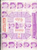 1969 - 1970 Evansville University Basketball press Media guide bx69