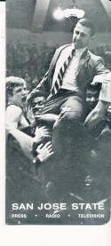 1969 - 1970 San Jose State Basketball press Media guide - bx69