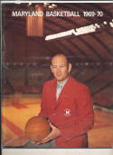 1969 - 1970 Maryland University Basketball press Media guide bx69