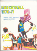 1969 - 1970 Murray state  Basketball press Media guide bx69