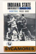 1969 -70 Indiana State Basketball press Media guide