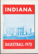 1969 -70 Indiana Basketball press Media guide