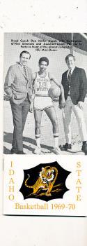 1969 - 70 Idaho State  Basketball press Media guide