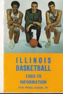 1969 -70 Illinois Basketball press Media guide