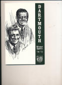 1970 - 1971 Dartmouth University Basketball Hockey press Media guide bx70