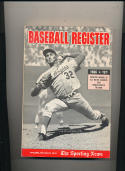 1966 Baseball Register TSN Sandy Koufax Dodgers