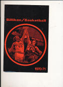 1970 - 1971 VMI University Basketball press Media guide bx69