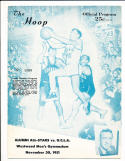 11/30 1951 UCLA vs Alumni all stars  basketball program