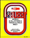 World All Star Track & field 7/2 1971 steve prefontaine em