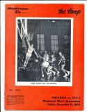 12/11 1953 Arizona vs UCLA  basketball program