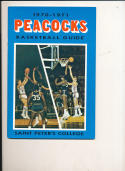 1970 - 1971 Saint Peters College Basketball press Media guide bx69