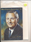 1970 - 1971 West Viriginia University Basketball press Media guide bx70