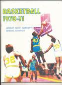 1970 - 1971 Murray State University Basketball press Media guide bx70