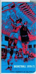 1970 - 71 Loyola University of Los Angeles basketball media guide nm -Bx70