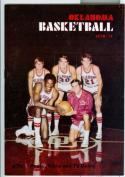 1970 - 71 Oklahoma basketball media guide nm -bx70