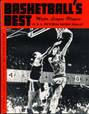 1966 Basketball Best NBA Pictorial Review Yearbook em/nm