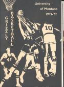 1971 - 1972 University of Montana Basketball press Media guide