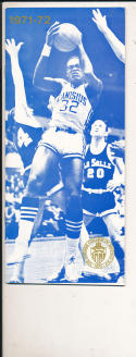 1971 - 1972 Canisius college Basketball press Media guide