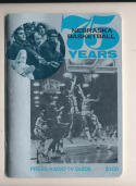 1971 - 1972 University of Nebraska Basketball press Media guide