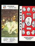 1958 Hardin Simmons University football TV media guide