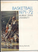 1971 - 1972 Murray state university Basketball press Media guide