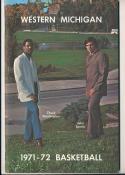 1971 - 1972 Western Michigan Basketball press Media guide