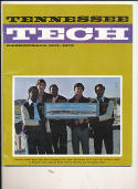 1971 - 72 Tennessee Tech Basketball press Media guide