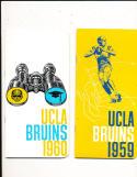 1960 UCLA Football press & media Guide
