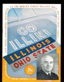 1948 11/13  Illinois vs Ohio State  Football Program