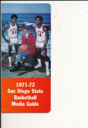 1971 - 1972 San diego state Basketball press Media guide