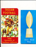 1968 USC OJ Simpson Football press & media Guide
