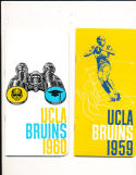 1959 UCLA Football press & media Guide