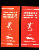1960 SMU Southern Methodist University Football press & media Guide