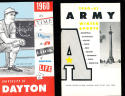 1960 Army College Basketball & Hockey TV Media Guide