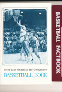 1971 - 1972 East Tennessee state  Basketball press Media guide