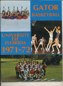 1971 - 72 florida Basketball press Media guide