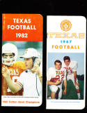 1967 Texas  Football press Media guide