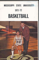 1971 - 1972 Mississippi State  Basketball press Media guide