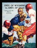 10/26 1946 Wyoming vs Utah  Football Program