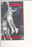 1971 - 1972 South Alabama Basketball press Media guide