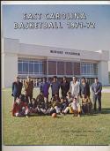 1971 - 1972 East Carolina basketball press Media guide
