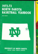 1972 - 1973 North Dakota University  Basketball press Media guide