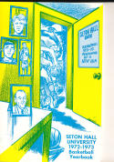 1972 - 1973 Seton Hall University  Basketball press Media guide